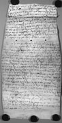Bactrian document O, recto